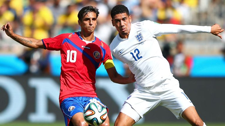 Chris Smalling: Showed some nerves