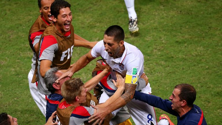 Clint Dempsey: Thought he had netted the winning goal