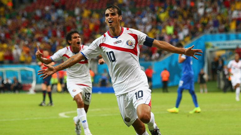 Bryan Ruiz: Had a good summer with Costa Rica