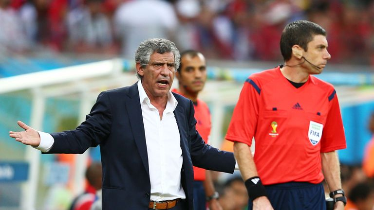 Fernando Santos: Disappointed with defeat