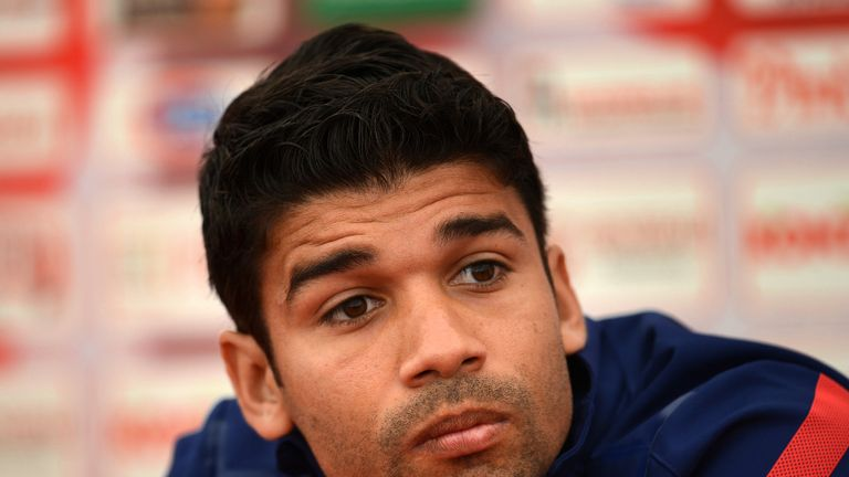 Eduardo: Brazil-born forward has the chance to spoil the party by scoring for Croatia