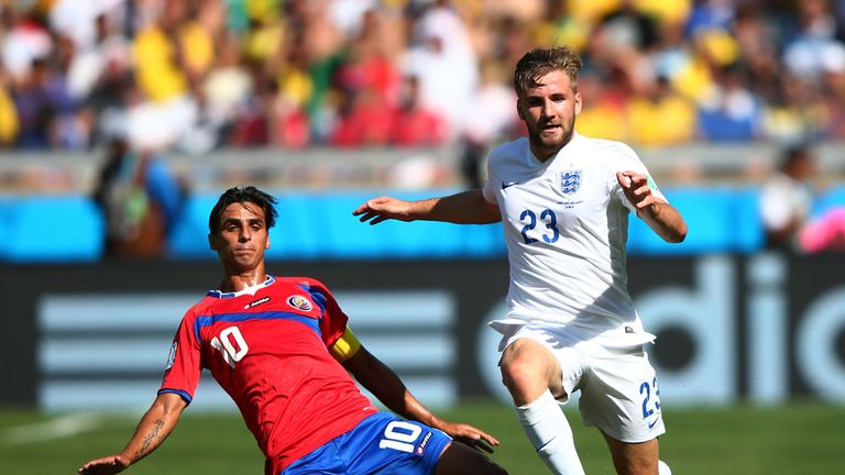 Luke Shaw: Got limited game time at the World Cup