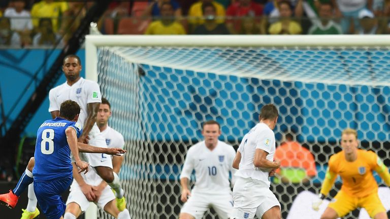 Italy pulled England out of shape in their Group D encounter in Manaus