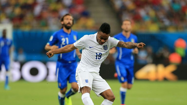 Sterling impressed in a central role against Italy