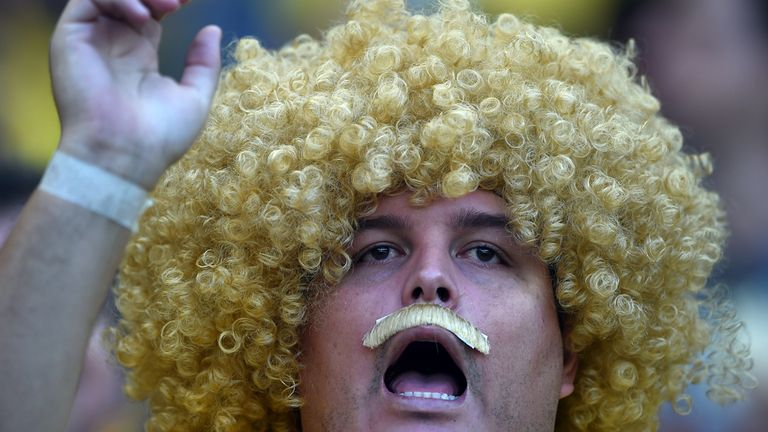 Colombia fans: Evoking memories of Carlos Valderrama, who starred in their previous World Cup adventures