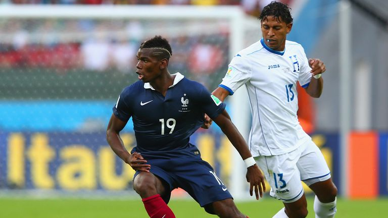 Paul Pogba: Reacted to some of Honduras' challenges on Sunday