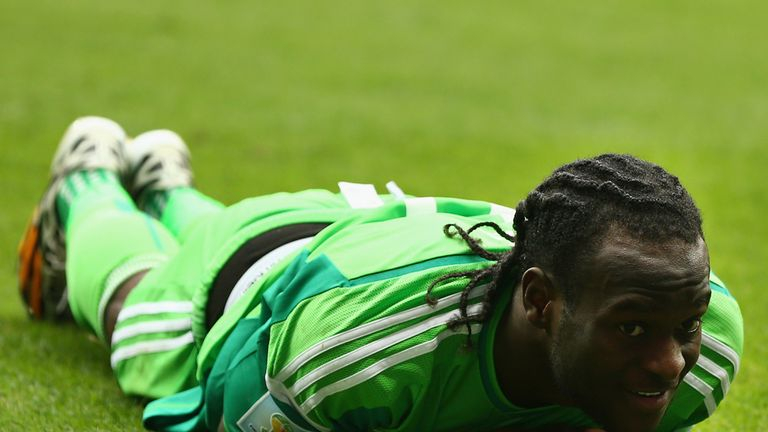 Victor Moses: Nigeria down and out