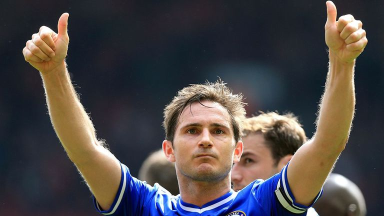 Frank Lampard: Scored 211 goals in 13 seasons at Chelsea