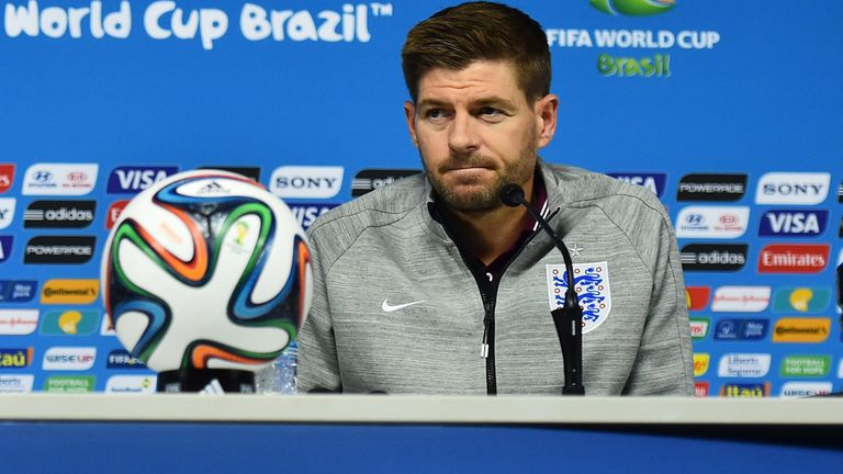 Steven Gerrard: Geared up for Uruguay clash