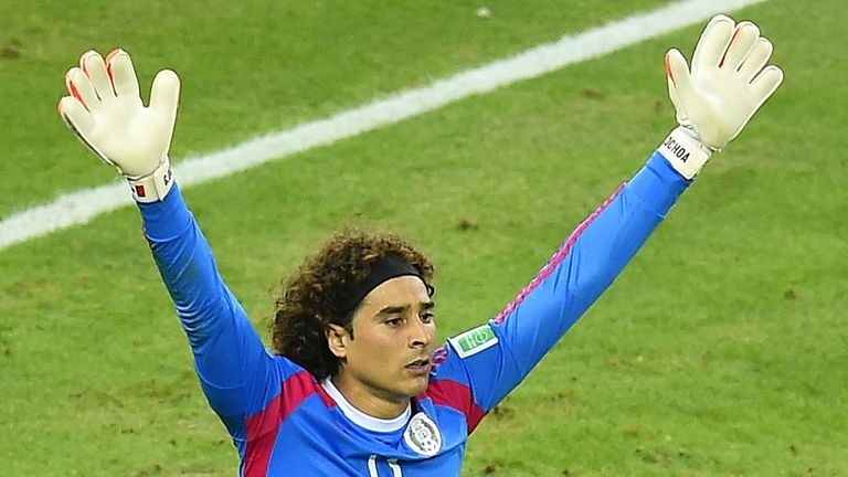Guillermo Ochoa: Has helped Mexico progress to the last-16