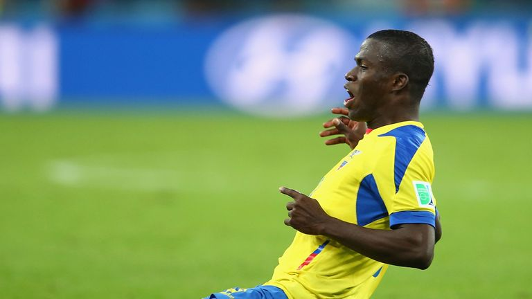 Enner Valencia: Attracting interest after a fine start to the World Cup