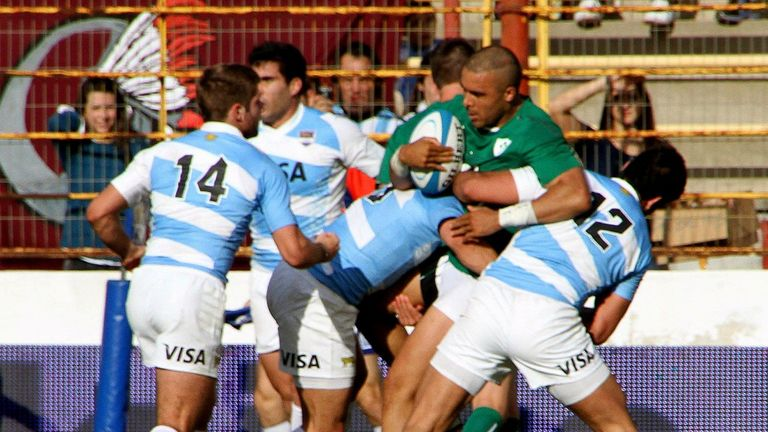 Argentina's second-string caused Ireland problems last weekend