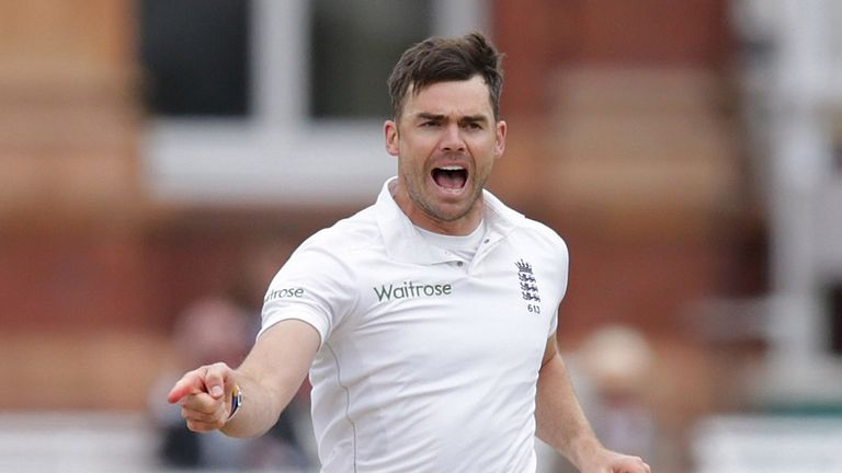 James Anderson helped England roar back on day five
