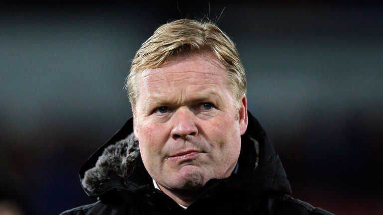 Ronald Koeman: Could become new Saints manager in next 48 hours.