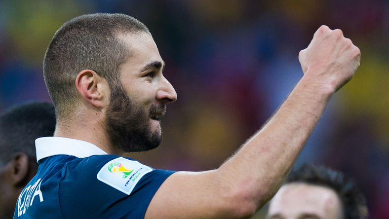 Karim Benzema: In fine form for France