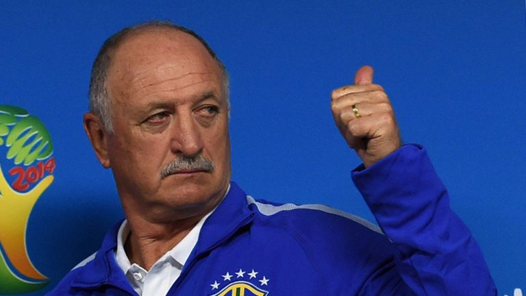 Luiz Felipe Scolari: Wants his Brazil side to be on their guard