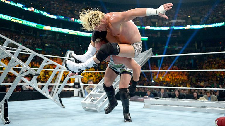 Dolph Ziggler and Rob Van Dam fight for control of the clash