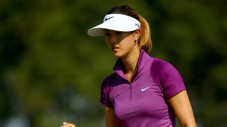 Michelle Wie: Leading the US Open