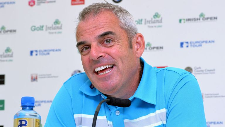 Paul McGinley: Injury concern for Ryder Cup captain