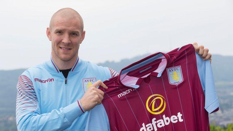 Philippe Senderos: Relishing the challenge ahead at Aston Villa