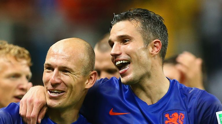 Deadly Dutch duo: Robben and Van Persie
