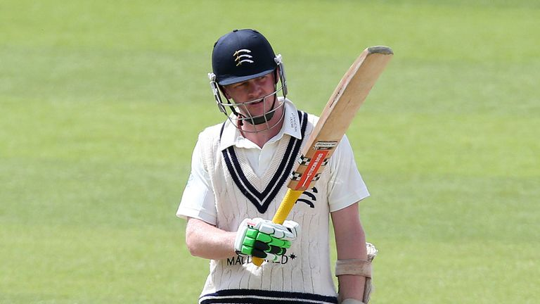Stuart Broad: Excited by Middlesex batsman Sam Robson