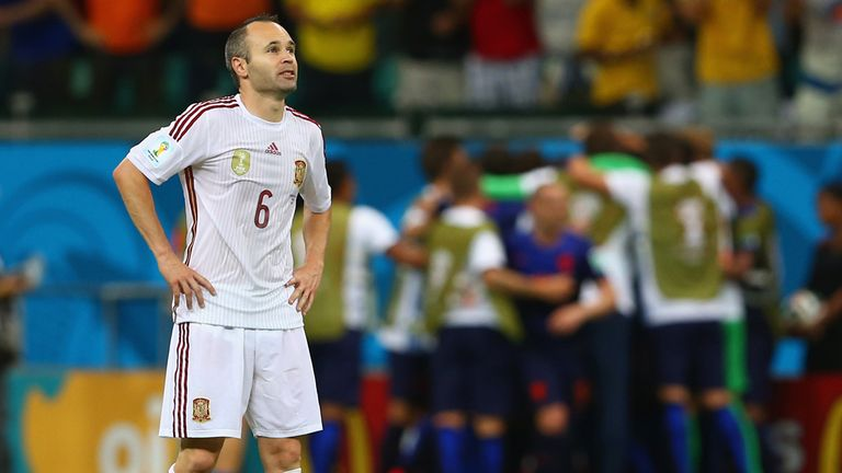 Andres Iniesta: Had no answer