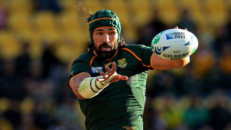 Victor Matfield: Will captain South Africa for the first time since his retirement in 2011