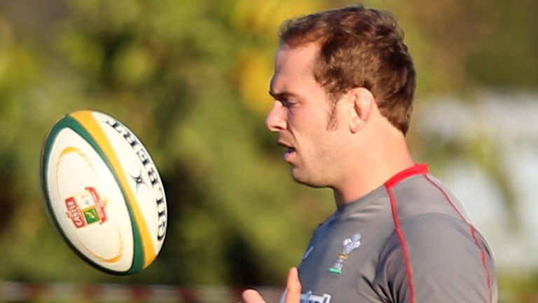 Alun Wyn Jones: His leadership has been praised