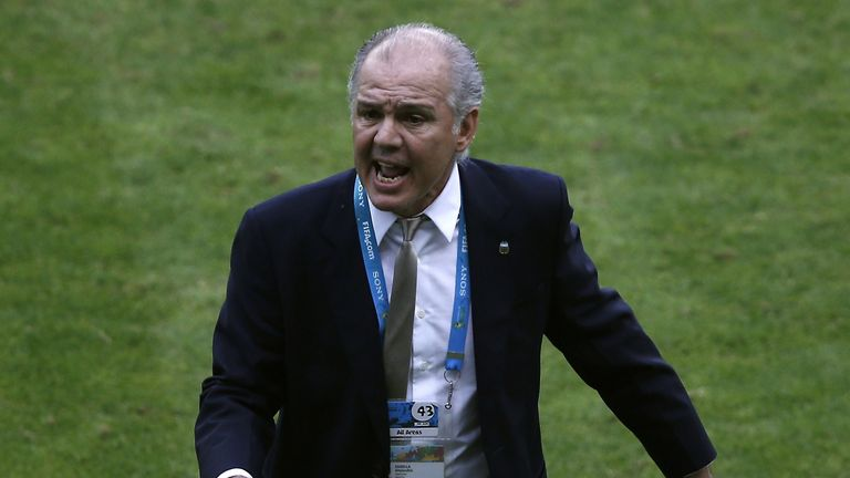 Alejandro Sabella: Thinks Argentina showed signs of improvement against Nigeria