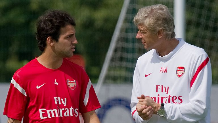 Fabregas left Arsenal in 2011 to join Barcelona