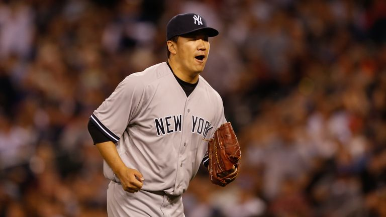Masahiro Tanaka: Tossed a complete game for the Yankees
