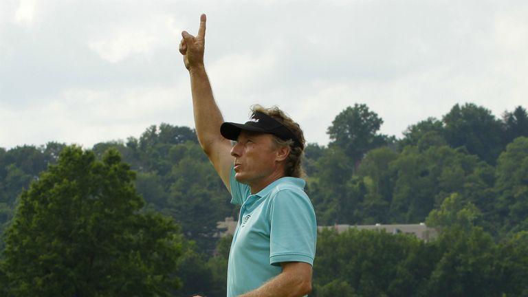 Bernhard Langer: won the title back in 2010