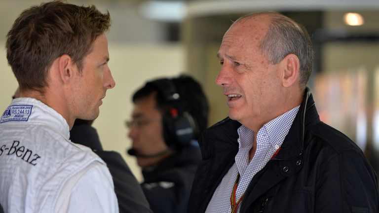 Ron Dennis has challenged Jenson Button to do better
