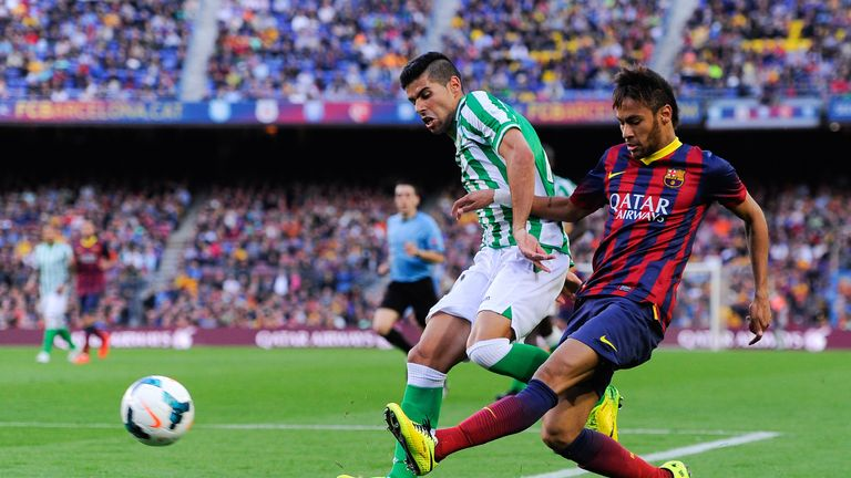 Juanfran: Has been in limbo at Betis