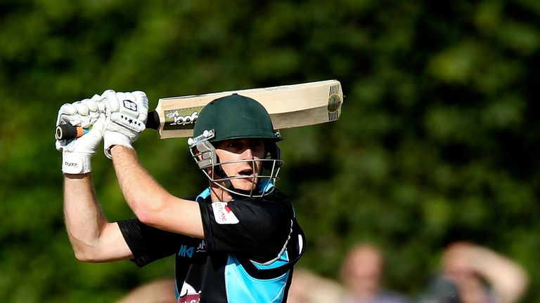 Daryl Mitchell: 62 from 45 balls for Worcestershire