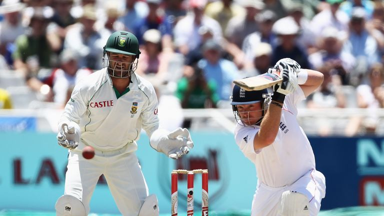 Ian Bell kept South Africa at bay in Cape Town in 2010