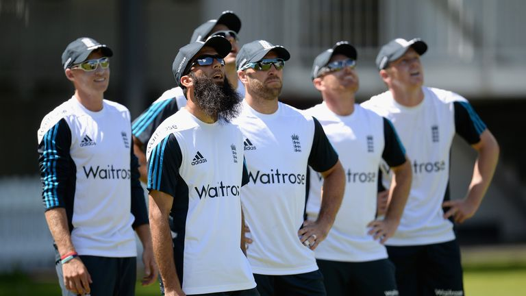 Looking up: England could name three debutants at Lord's