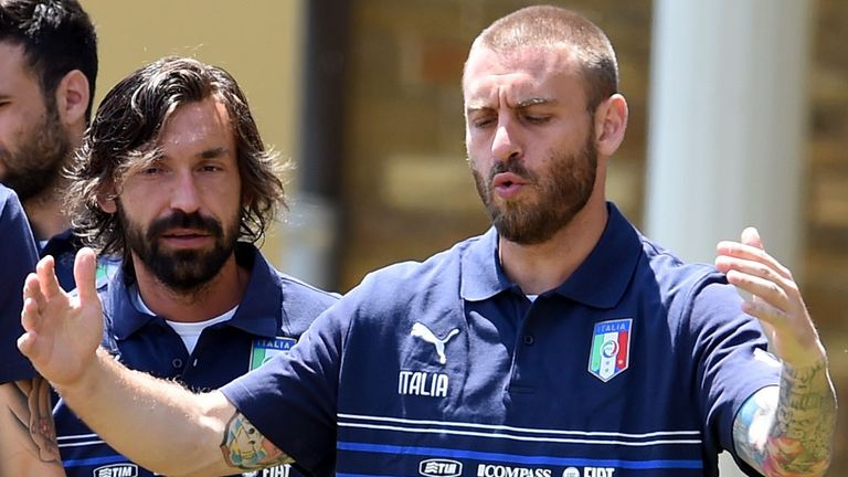 Daniele De Rossi: Emotional at prospect of saying goodbye to Andrea Pirlo