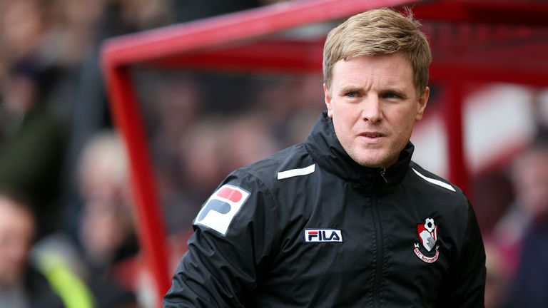 Eddie Howe: Keeping new striker on his toes