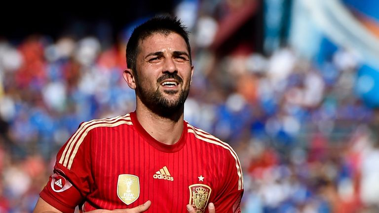 David Villa (pictured) and Mario Gomez were strongly linked with City on the same Deadline Day