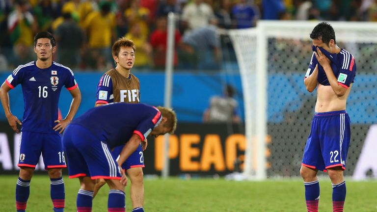 Japan: Woe at final whistle