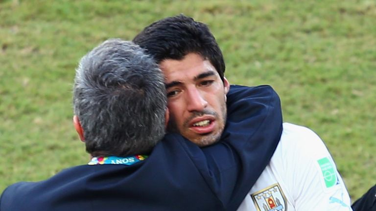 Luis Suarez: Banned for four months after extraordinary news conference