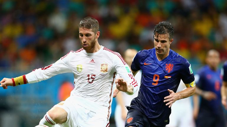 Sergio Ramos: Backing Spain to recover from Dutch defeat