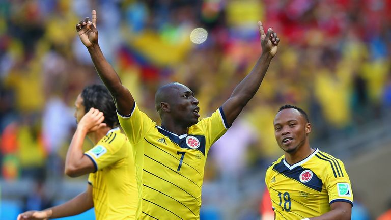 Pablo Armero: Joined Serie A giants