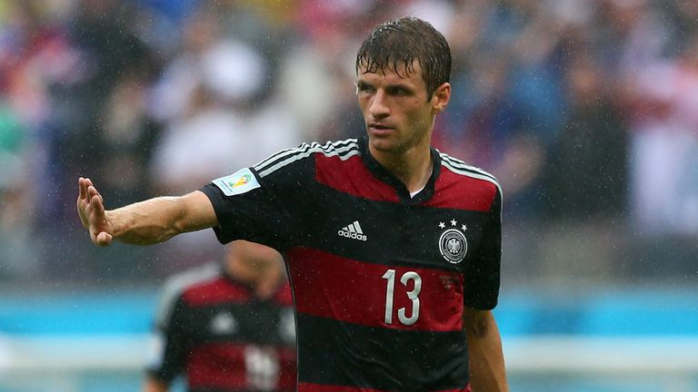 Thomas Muller: Integral part of Germany's plans