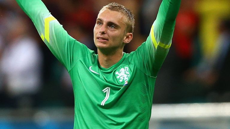 Jasper Cillessen: Substituted