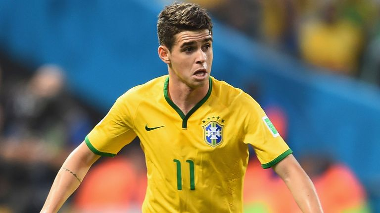 Oscar: Has admitted PSG contact