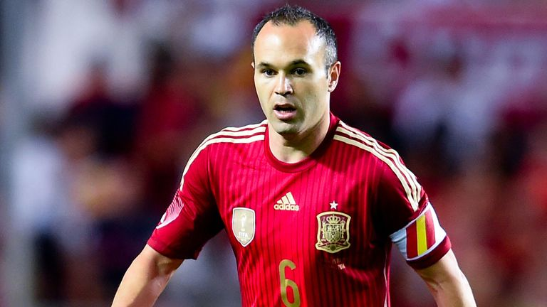 Andres Iniesta: Misses Spain's next two matches