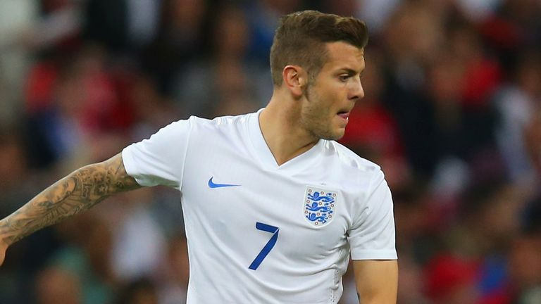 Wilshere: Could start against Costa Rica